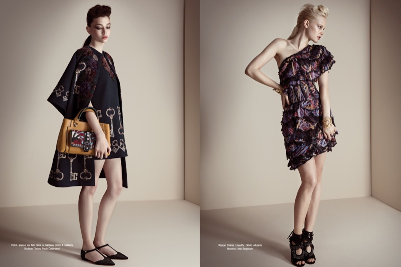 fashion story iakovos3 New Fashion Story: Hannah & Nichole by Iakovos Kalaitzakis for LOfficiel Hellas