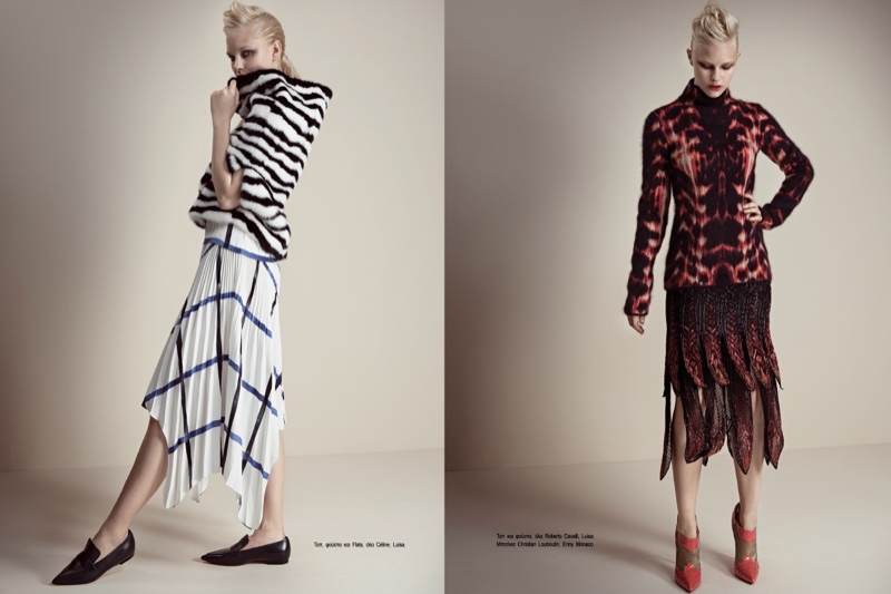 fashion story iakovos5 New Fashion Story: Hannah & Nichole by Iakovos Kalaitzakis for LOfficiel Hellas