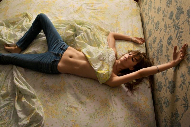Inez & Vinoodh Collaborate with FRAME Denim, Tap Freja Beha Erichsen to Model