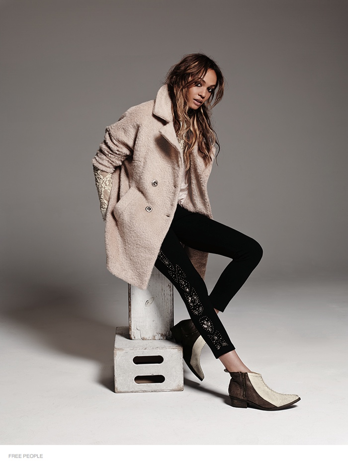 free people bohemian joan smalls shoot14 Joan Smalls is Bohemian Chic for Free Peoples August Issue