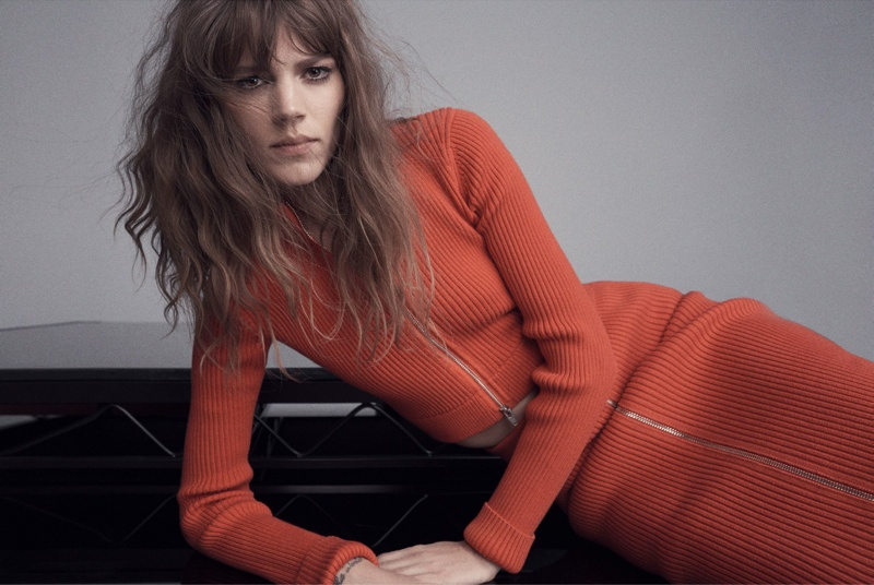 freja beha erichsen photo shoot11 Freja Beha Erichsen is at Her Personal Best for Russh Shoot by Benny Horne
