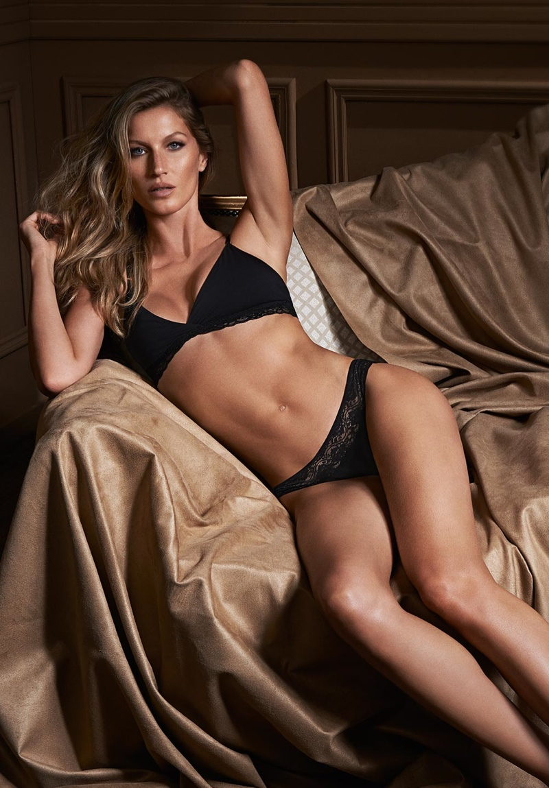 Gisele Bundchen for Gisele Intimates 2014 Campaign Photos Gisele Bundchen