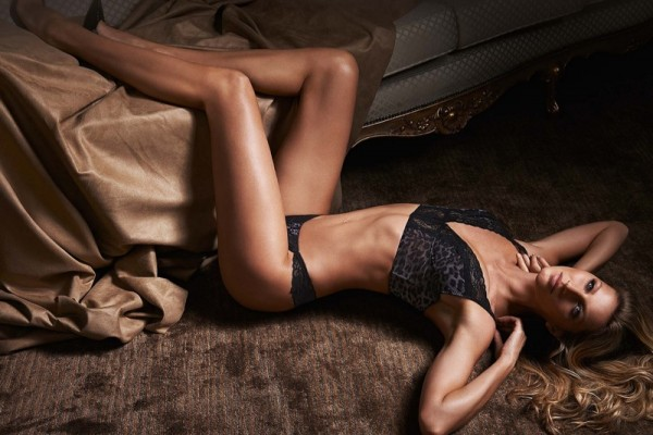 Gislee Bundchen for Gisele Intimates Fall 2014 Campaign