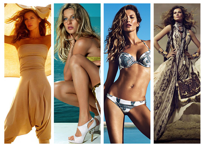 gisele campaigns years TBT | Gisele Bundchens 10 Greatest Campaign Moments Through the Years