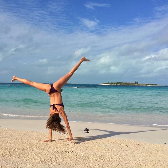 Gisele Bundchen is on vacation
