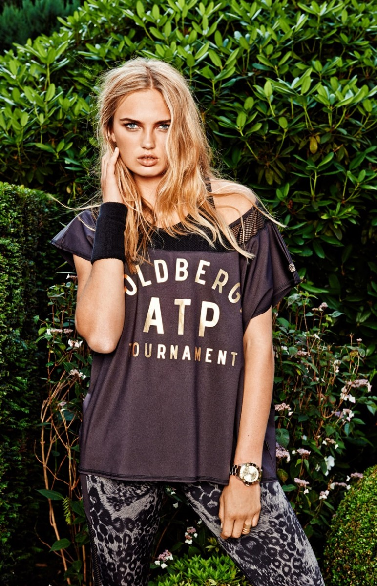 goldbergh spring summer 2015 campaign7 772x1200 Romee Strijd Hits the Field for Goldberghs Spring 2015 Campaign