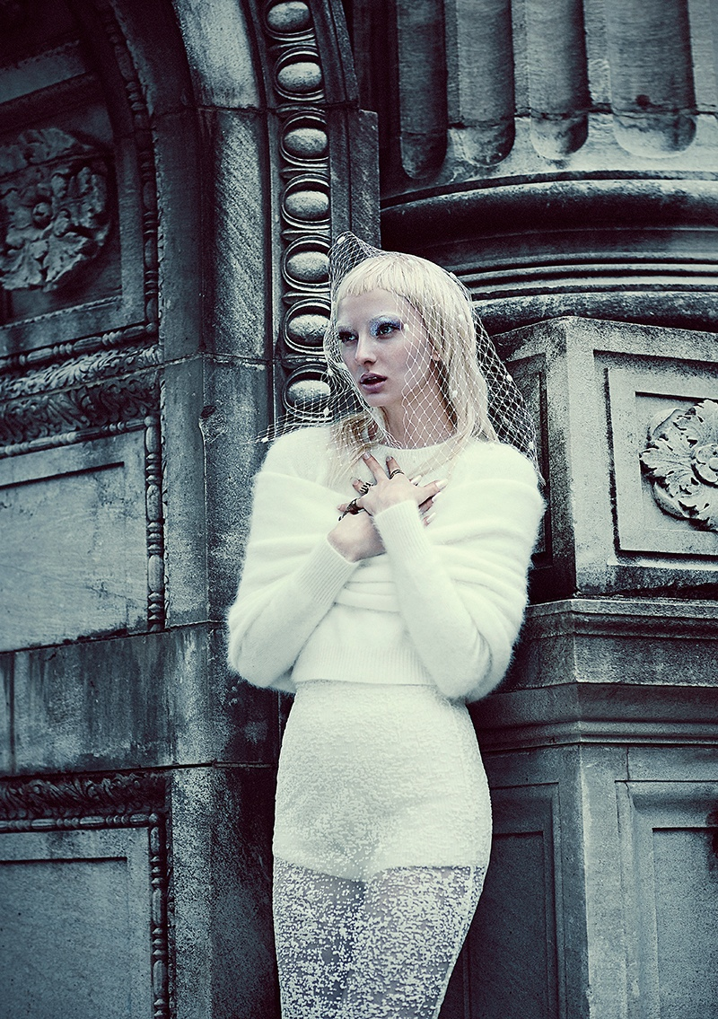 good evil fashion chris nicholls2 Garden of Good & Evil: Meagan + Gaby by Chris Nicholls for FASHION Magazine