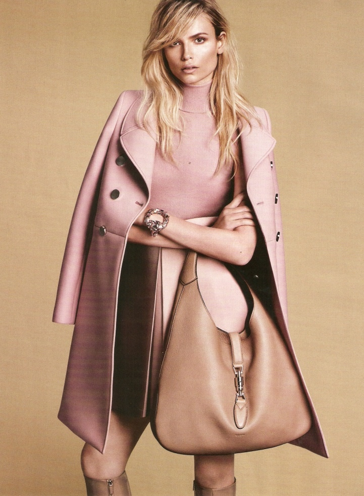 gucci fall winter 2014 campaign2 First Look: Gucci Fall 2014 Campaign with Natasha Poly, Anja Rubik + More