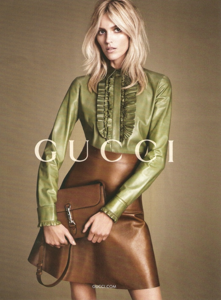 First Look: Gucci Fall 2014 Campaign with Natasha Poly, Anja Rubik + More