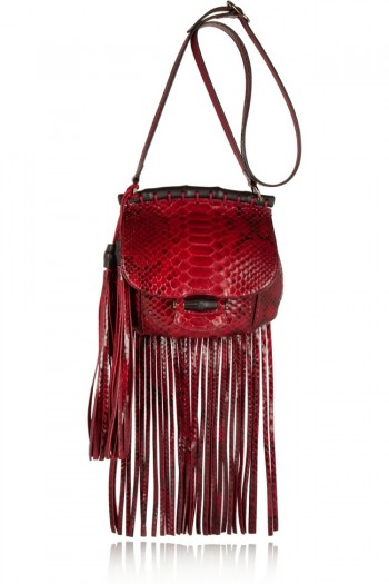 The Fall Trend Designers Love: Fringe!