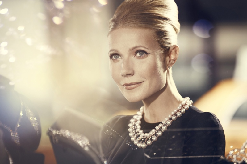 gwyneth paltrow max factor makeup 2014 campaign1 Gwyneth Paltrow Channels Audrey Hepburn, Brigitte Bardot for Max Factor Campaign