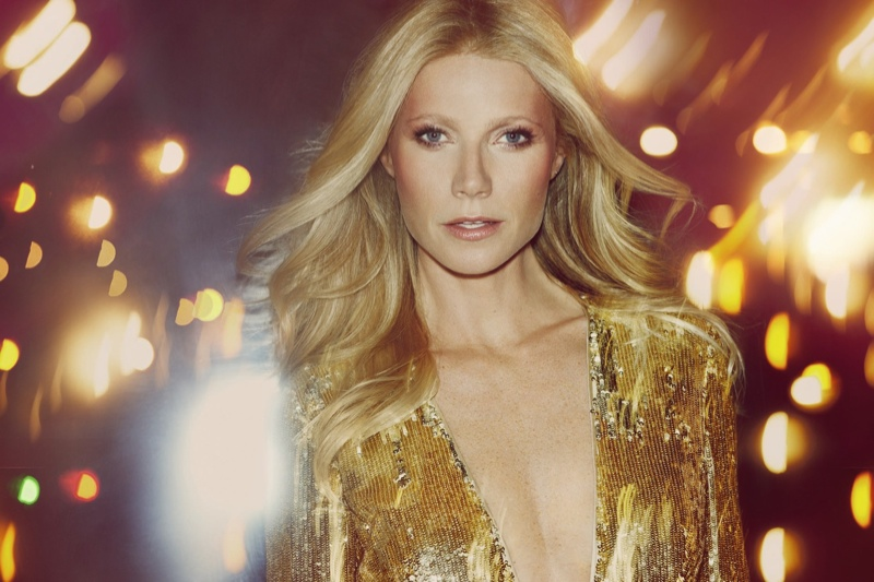 gwyneth paltrow max factor makeup 2014 campaign2 Gwyneth Paltrow Channels Audrey Hepburn, Brigitte Bardot for Max Factor Campaign