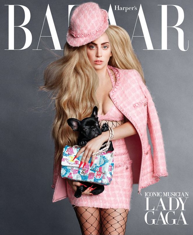 harpers bazaar september 2014 covers1 Lady Gaga, Penelope Cruz & Linda Evangelista Cover Bazaar US September 2014
