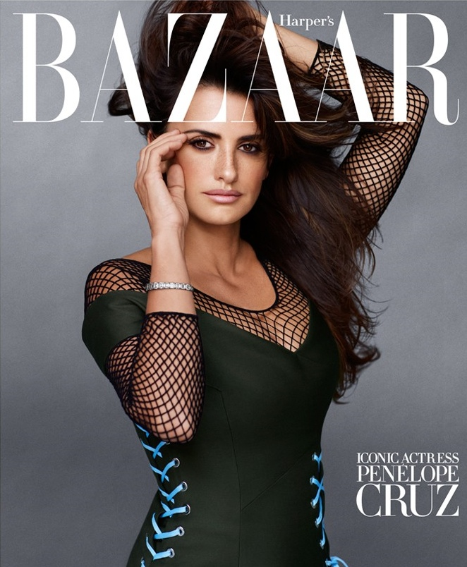 harpers bazaar september 2014 covers2 Lady Gaga, Penelope Cruz & Linda Evangelista Cover Bazaar US September 2014