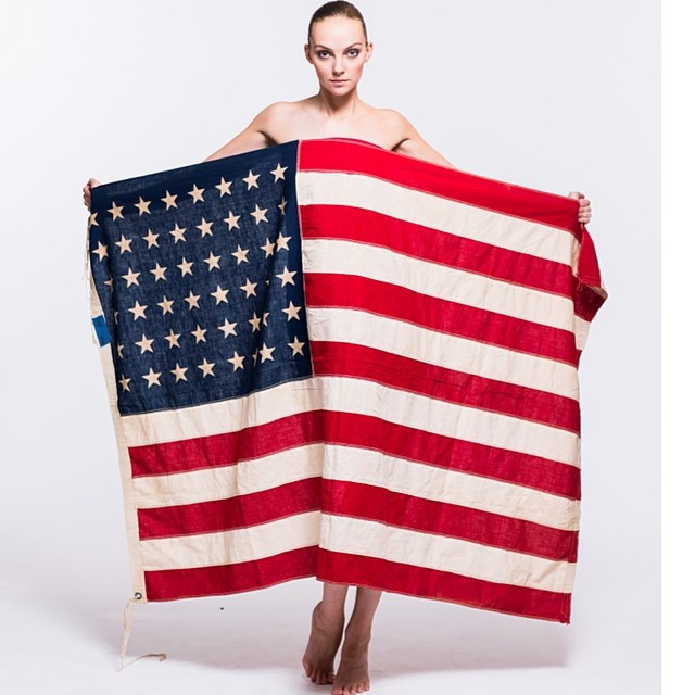 heather flag Celebrating the 4th: Miranda Kerr, Alessandra Ambrosio + More Independence Day Instagrams