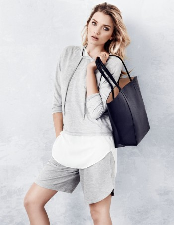 Lily Donaldson Gets Sporty for H&M Style Update