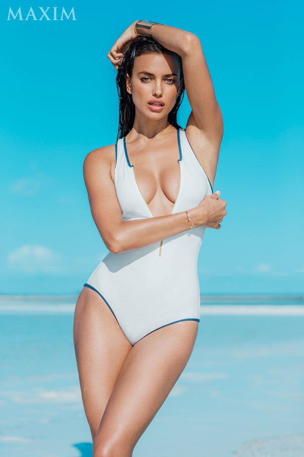 Irina Shayk Stars in Maxim, Says She & Cristiano Have to be Strong