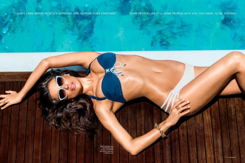 irina shayk maxim 2014 photos3 Irina Shayk Stars in Maxim, Says She & Cristiano Have to be Strong