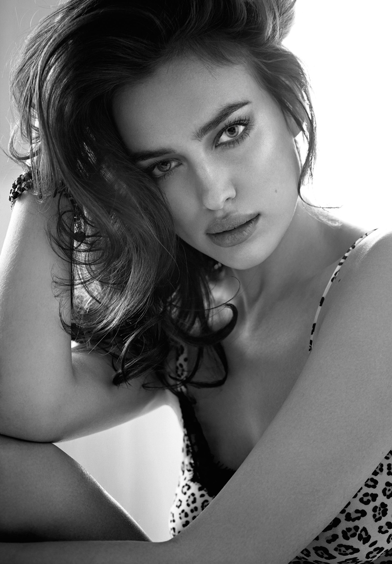 irina shayk twin set fall 2014 campaign photos3 Irina Shayk is a Lingerie Stunner for Twin Sets Fall 2014 Campaign