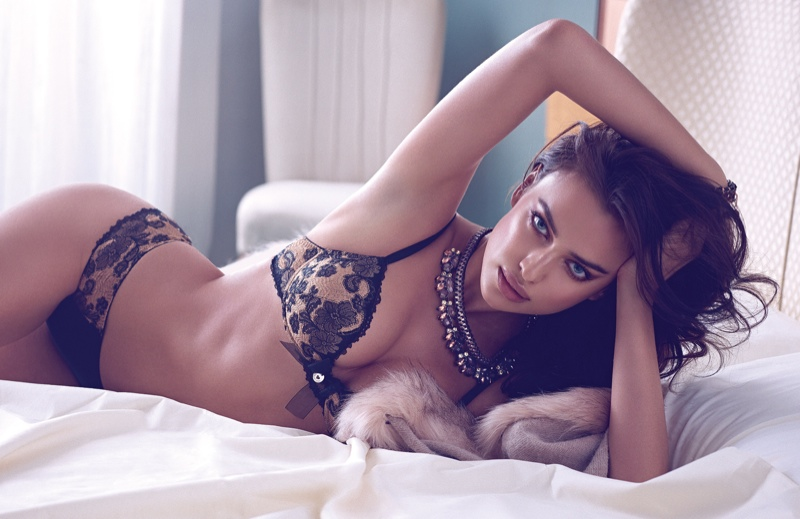 Irina Shayk for Twin Set Lingerie Fall 2014 Campaign by Andoni & Arantxa