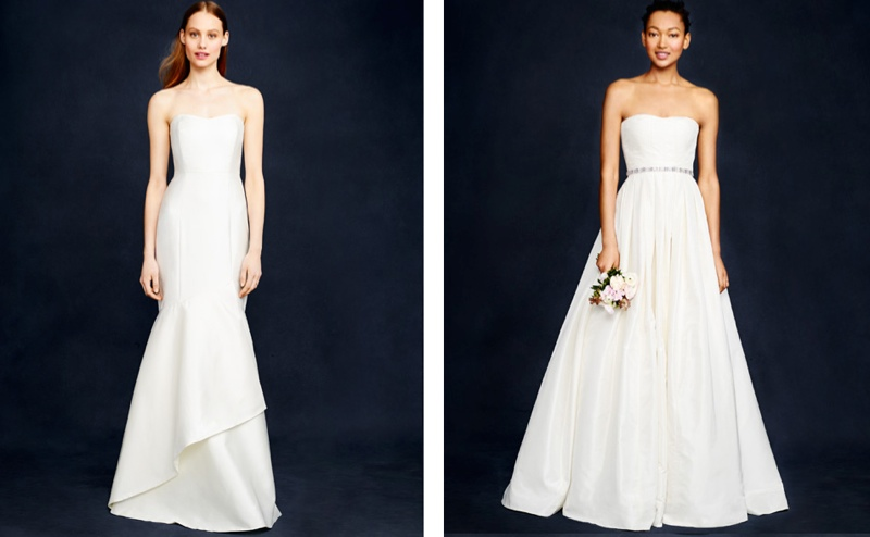 J. Crew Showcases Fall/Holiday 2014 Wedding Dresses