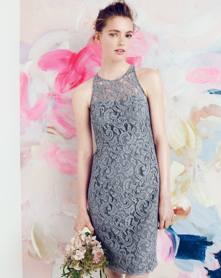 j crew bridesmaid style1 J. Crew Offers Elegant Wedding & Party Dresses for August Style Guide