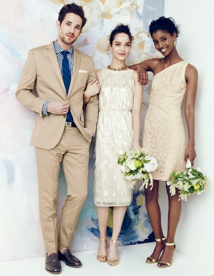 j crew bridesmaid style2 J. Crew Offers Elegant Wedding & Party Dresses for August Style Guide