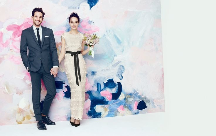 J. Crew Offers Elegant Wedding & Party Dresses for August Style Guide