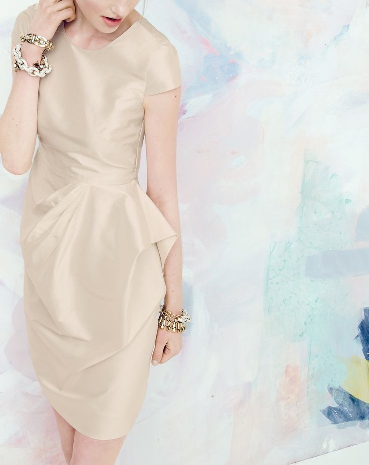 j crew bridesmaid style4 J. Crew Offers Elegant Wedding & Party Dresses for August Style Guide