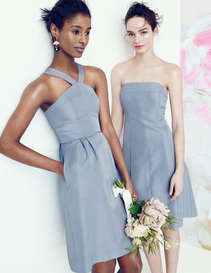 j crew bridesmaid style5 J. Crew Offers Elegant Wedding & Party Dresses for August Style Guide