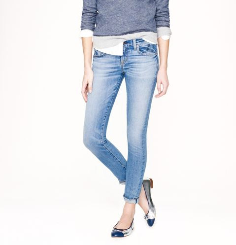 j crew denim J. Crew Takes Vanity Sizing to New Level with Size 000