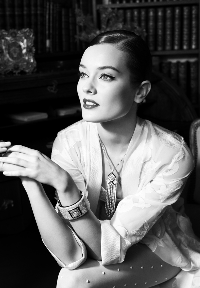 jac jagaciak chanel fine jewelry5 Jac Jagaciak is 20s Chic in Chanel Fine Jewelry Feature