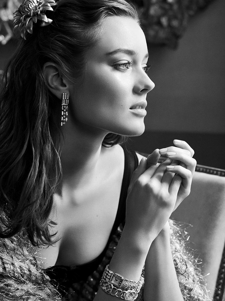jac jagaciak chanel fine jewelry6 Jac Jagaciak is 20s Chic in Chanel Fine Jewelry Feature