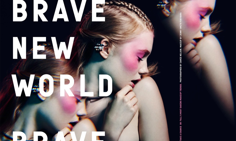 jamie nelson beauty1 Brave New World: Zanna Van Vorstenbosch by Jamie Nelson for Nylon