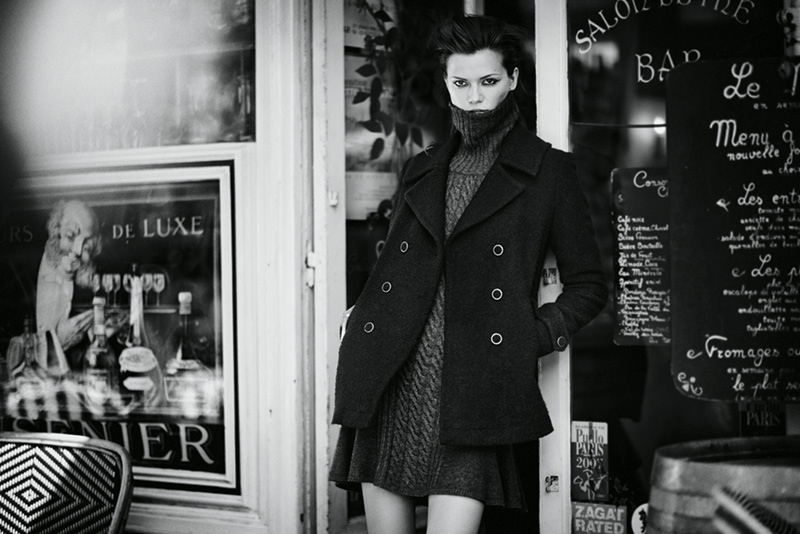 joie 2014 fall winter campaign2 Kasia Struss Heads to Paris for Joies Fall/Winter 2014 Campaign