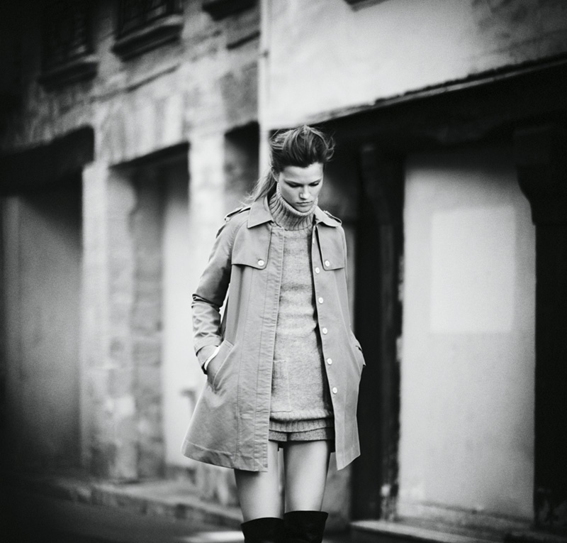 joie 2014 fall winter campaign3 Kasia Struss Heads to Paris for Joies Fall/Winter 2014 Campaign