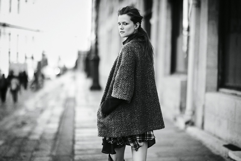 joie 2014 fall winter campaign4 Kasia Struss Heads to Paris for Joies Fall/Winter 2014 Campaign