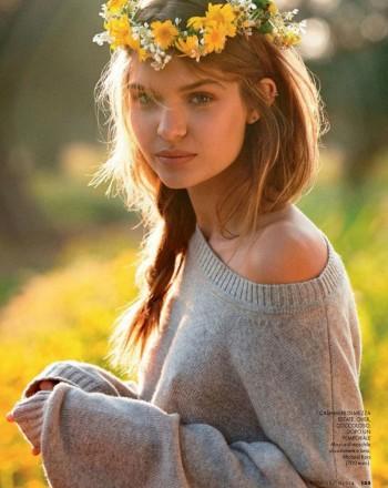 Josephine Skriver is 'In Love' for Elle Italia Shoot by Dan Martensen