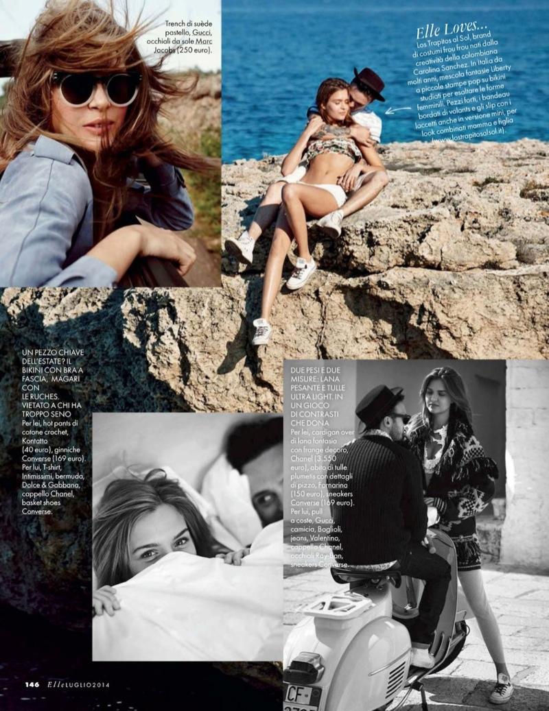 josephine skriver dan martensen shoot11  Josephine Skriver is 'In Love' for Elle Italia Shoot by Dan Martensen