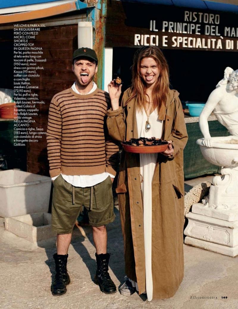 josephine skriver dan martensen shoot14  Josephine Skriver is 'In Love' for Elle Italia Shoot by Dan Martensen