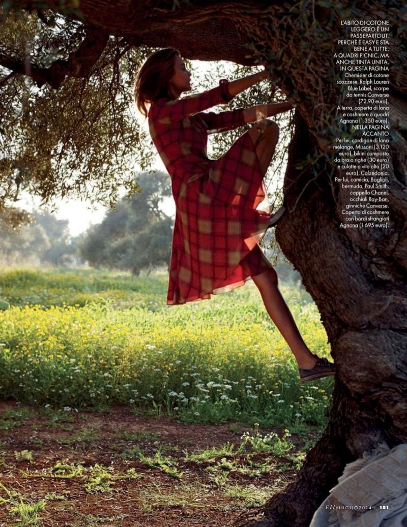 josephine skriver dan martensen shoot16  Josephine Skriver is 'In Love' for Elle Italia Shoot by Dan Martensen