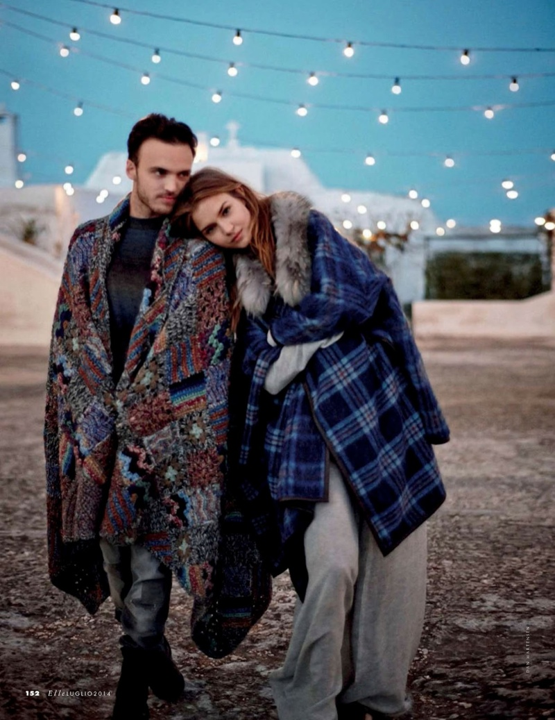 josephine skriver dan martensen shoot17  Josephine Skriver is 'In Love' for Elle Italia Shoot by Dan Martensen
