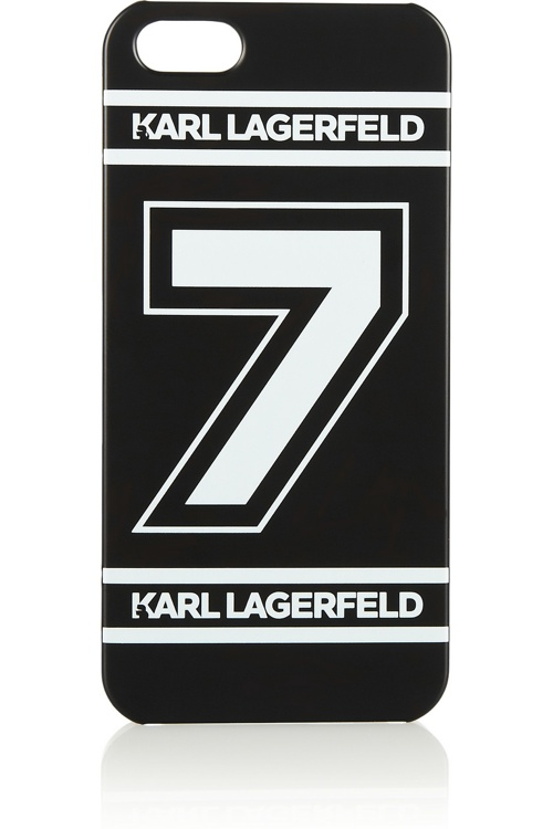 karl lagerfeld number 7 iphone designer case 5 Top Designer iPhone Cases: From Karl Lagerfeld to Moschino