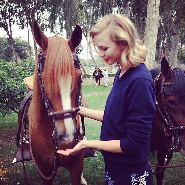 karlie horse Instagram Photos of the Week | Kate Moss, Naomi Campbell + More Models