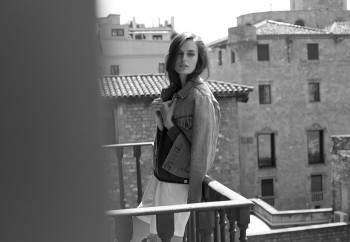 Kaylin Rogers Poses in Barcelona for Amie Milne Shoot