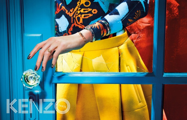 kenzo fall 2014 ad photos2 More Trippy Photos from Kenzo's Fall 2014 Ads Released