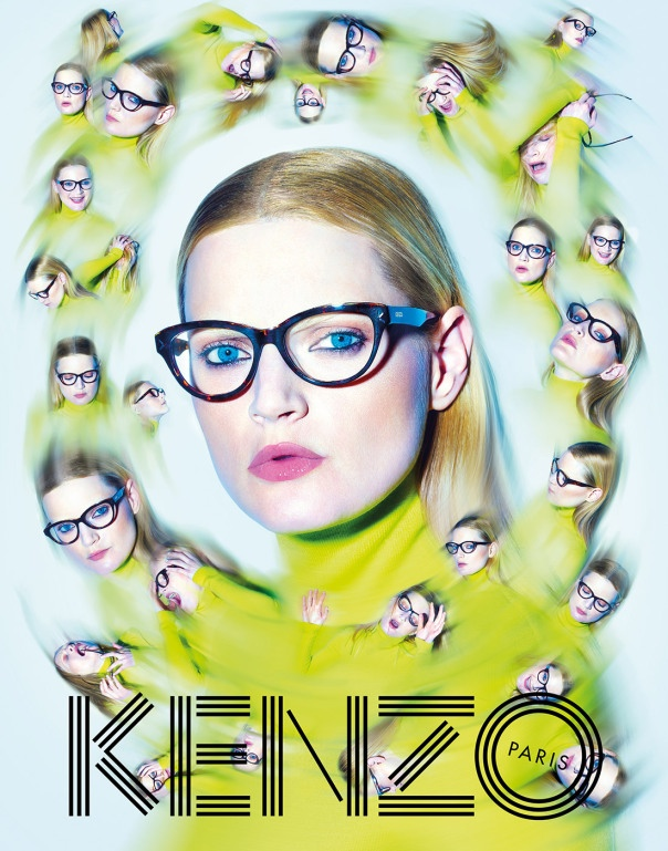 kenzo fall 2014 ad photos5 More Trippy Photos from Kenzo's Fall 2014 Ads Released