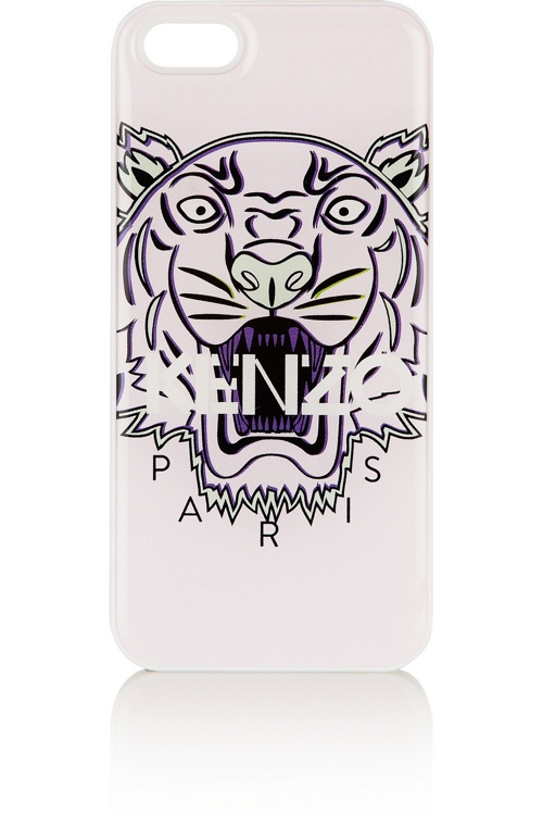 kenzo tiger print designer iphone cover 5 Top Designer iPhone Cases: From Karl Lagerfeld to Moschino