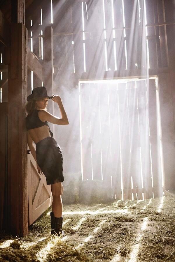 Kowboy Karlie! Tamara Mellon Taps Karlie Kloss for Western Film