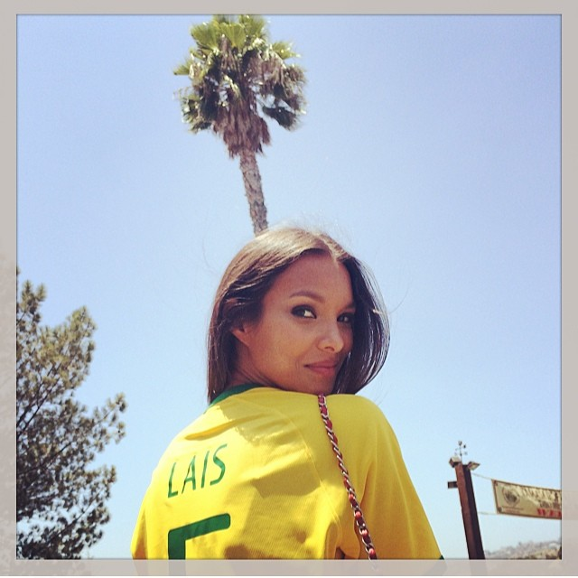 lais brazil Instagram Photos of the Week | Kate Moss, Naomi Campbell + More Models